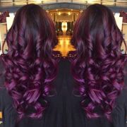 burgundy hair - google
