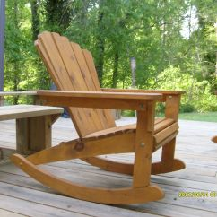 Double Rocking Adirondack Chair Plans Single Weather Build Diy Small House Plan