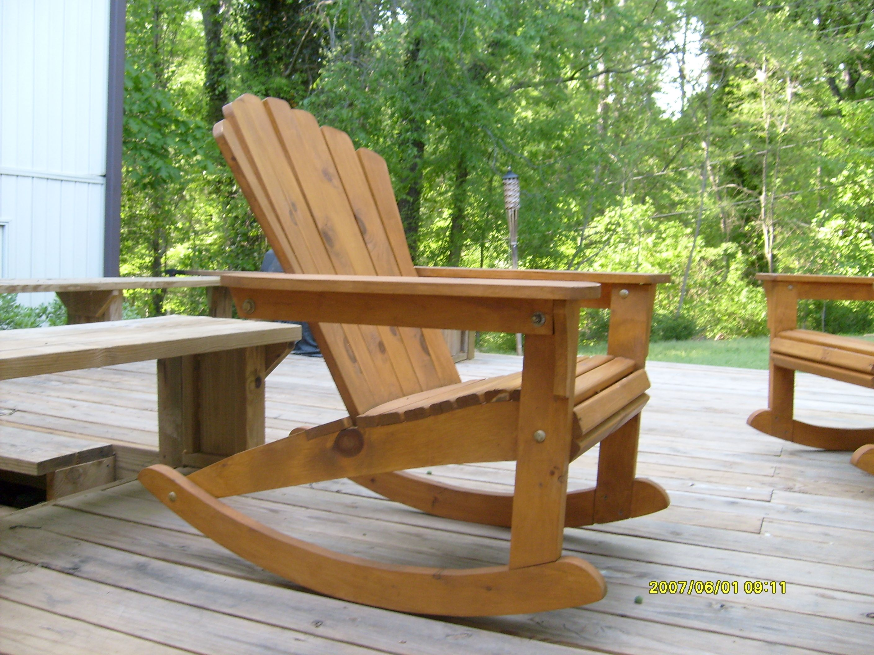 Plans For Adirondack Chairs Build Plans Adirondack Rocking Chair Diy Small House Plan