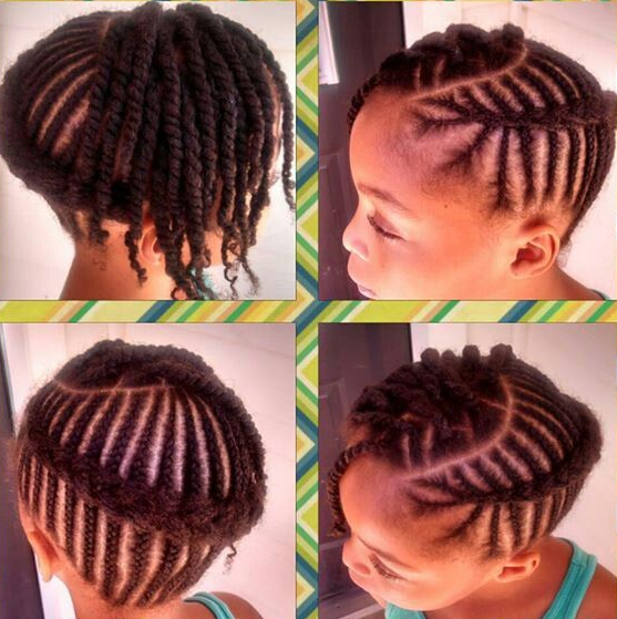 Children's Braid Styles Black Hair Google Search Braidtastic