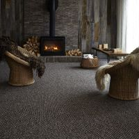 Simple Dark Grey Carpet Living Room Living Room Carpet ...