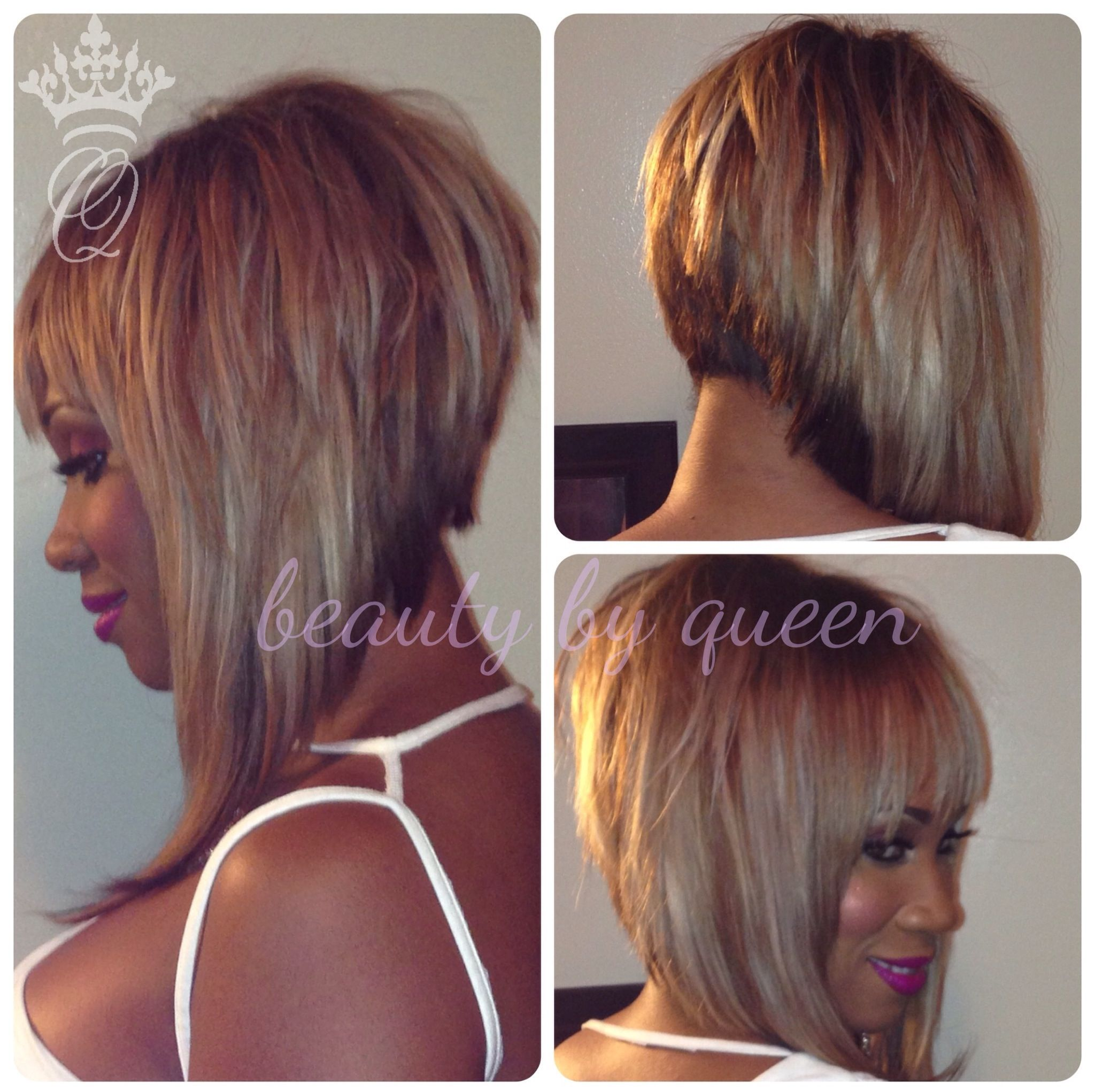 Full Sew In Bob With Lace Closure Hair Love ❤ Pinterest