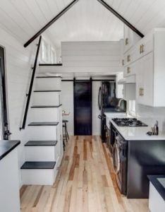 Tiny house interior kokosing by modern living entire layout also koko   croft pinterest rh in