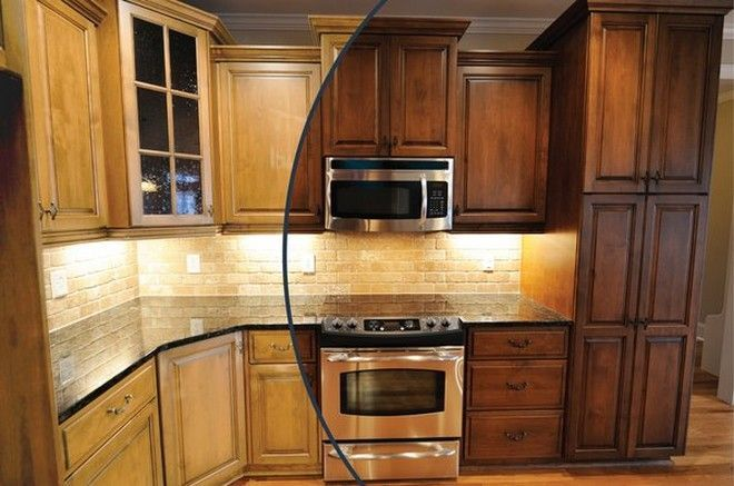 Oak Kitchen Cabinet Stain Colors  Popular Kitchen Cabinet