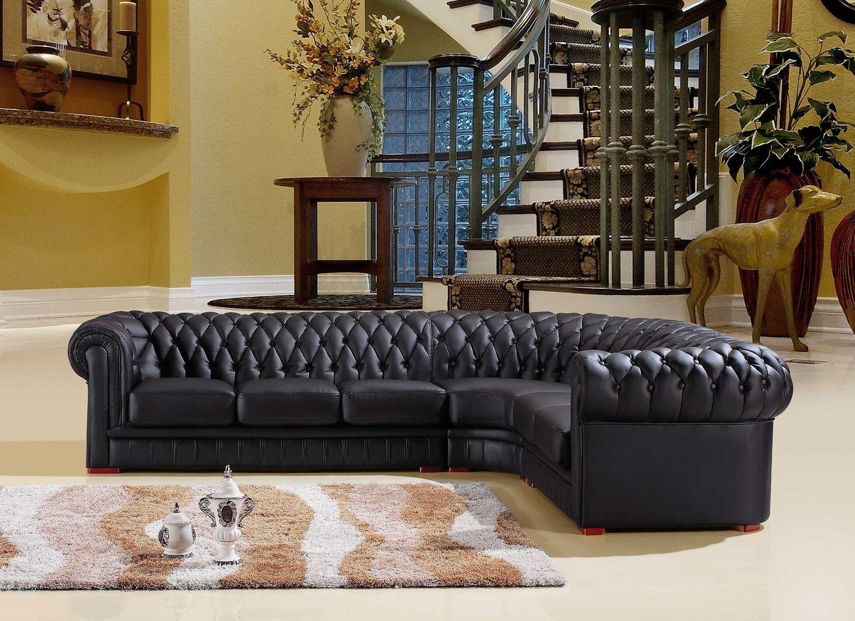 white leather chesterfield corner sofa kuka india black right hand