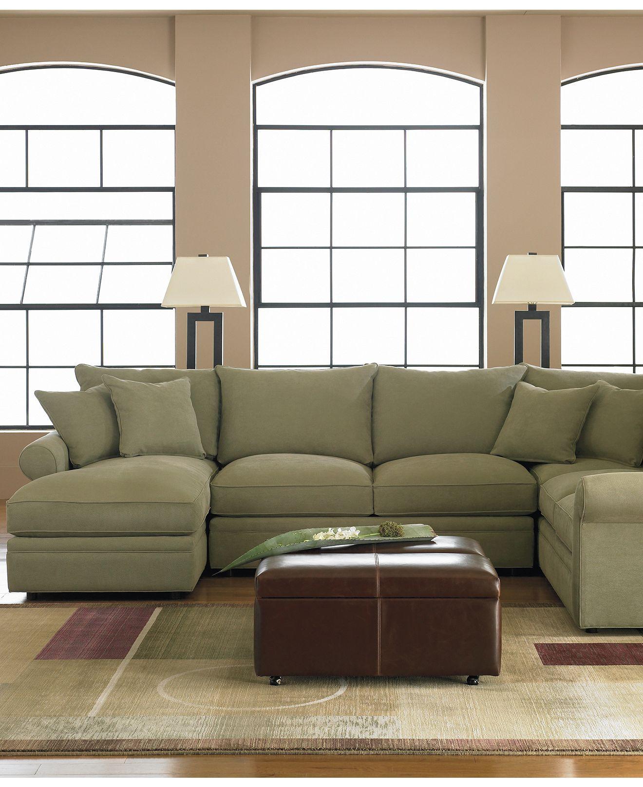 sectional sofas microfiber fabric kids fold out sofa doss 4 piece left arm