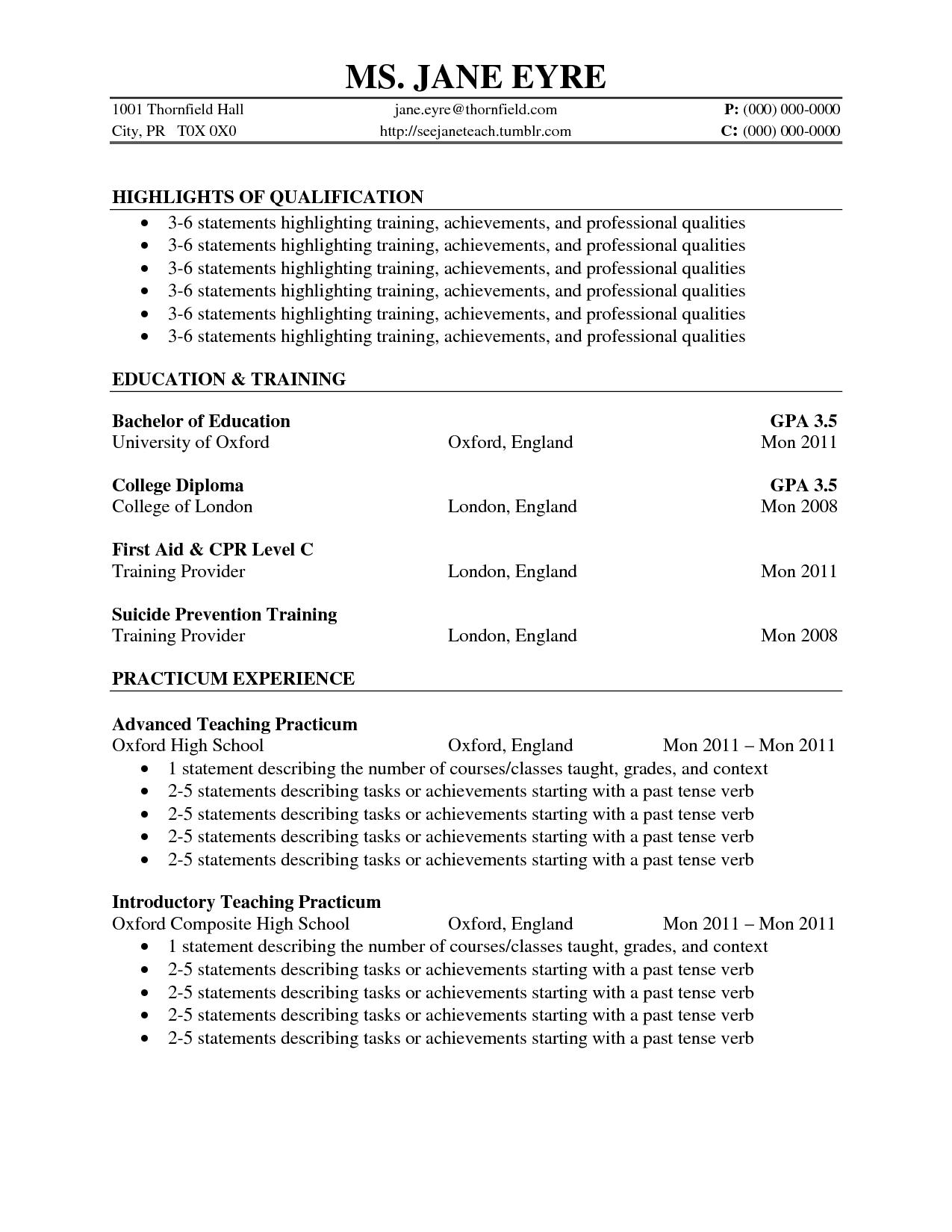 Cv Template Volunteer Work CustoVolunteer Work On Resume