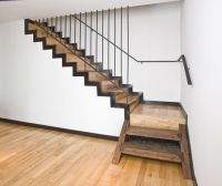 Elegant Staircase Appropiate For Design New Home With ...