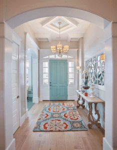 Idea paint double front doors on inside house of turquoise highland also rh pinterest