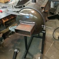 Fox & Liberty 3 burner propane forge with forced air ...