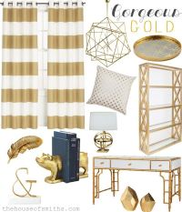 Gorgeous gold accents. How to incorporate the trend into ...