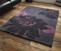 Attractive Large Area Rugs For Living Room #3 - Plum ...