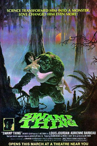 Resultado de imagen para Swamp Thing movie poster