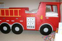 boys room, fire truck bed | Room Ideas | Pinterest | Truck ...