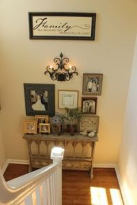 top of stairs decorating ideas - Google Search | Spirit ...
