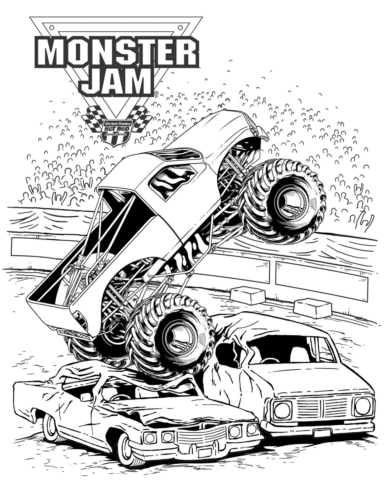 monster truck coloring pages http://www.monsterjam.com