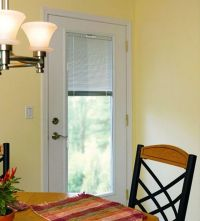 Single Patio Door With Blinds Between | Home | Pinterest ...