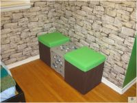 Cute Double Chairs Minecraft Design For Kid Bedroom ...