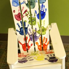 Ideas For Painting Adirondack Chairs Bedroom Chair Pinterest Kindergarten Mrs Proud Quothappy Hearts Quot Hand Painted Kid