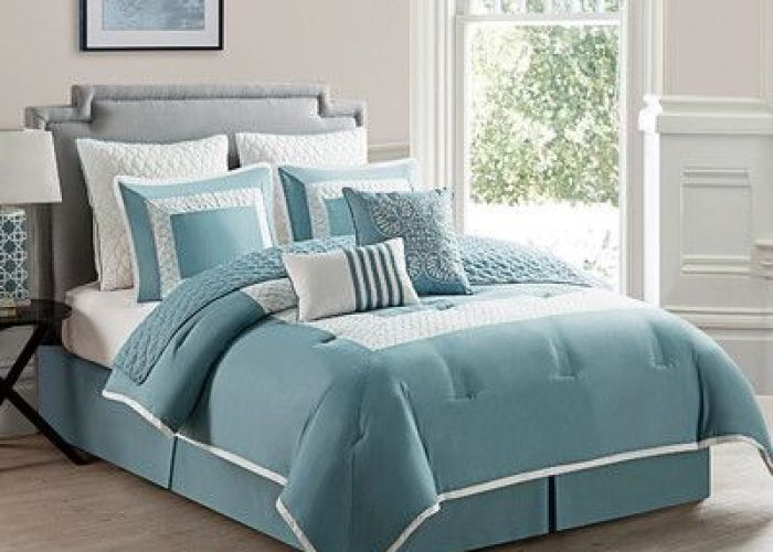 Marion comforter set by vcny envelop your bed in luxury with the this elegant features  bold geometric design that also corte bedding pinterest and bath
