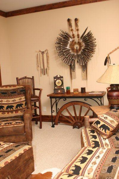 recliner patio chair heavy duty camp native american decor | lakota cove homes pinterest decor, ...