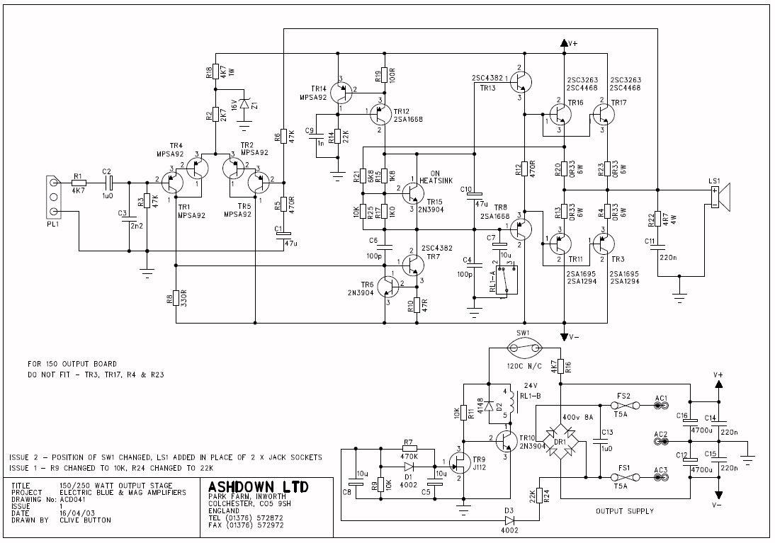Pin by Bass Starter on Bass: Ashdown Tech sheet