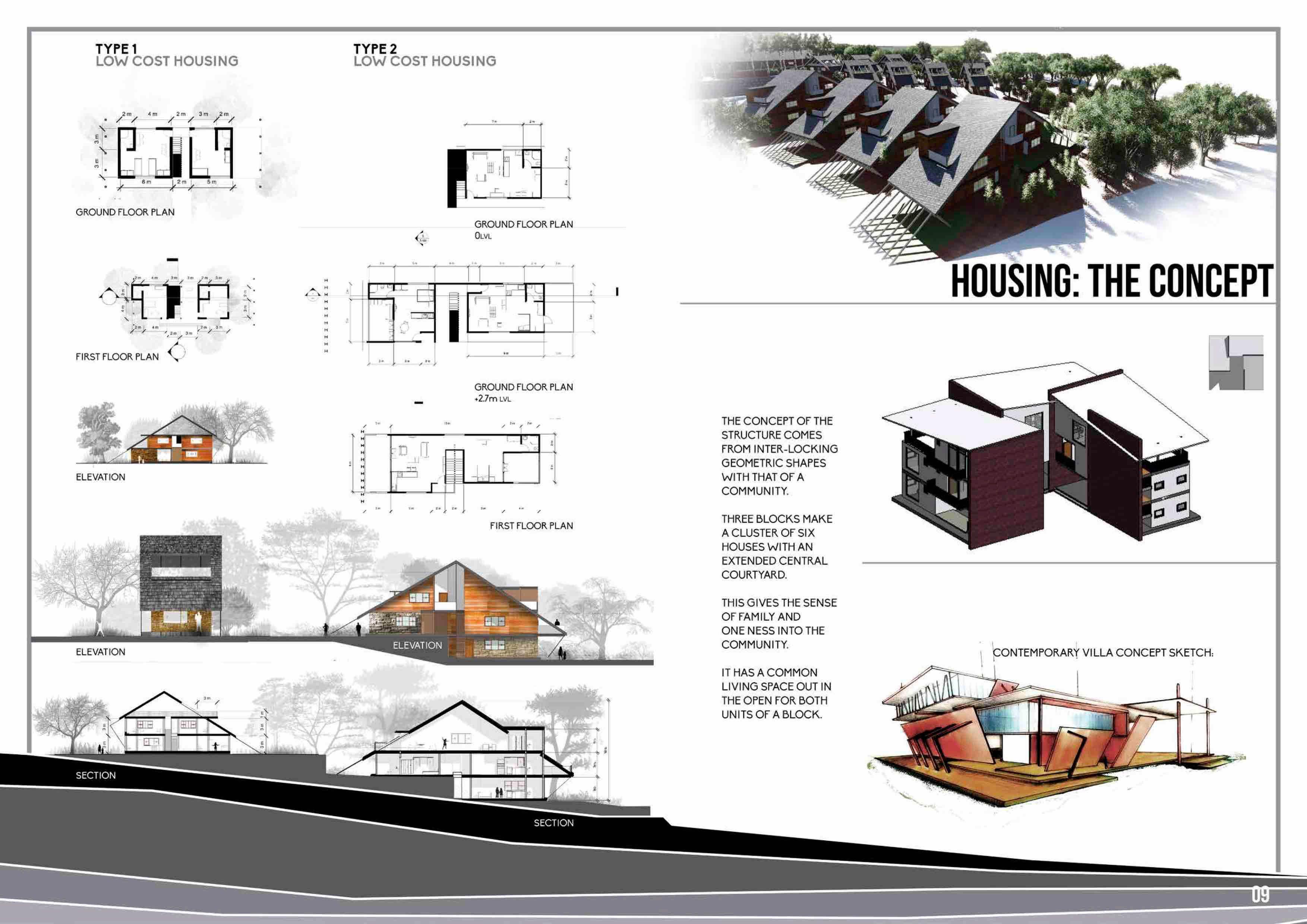 Undergraduate Architecture Portfolio  Nish Pinterest