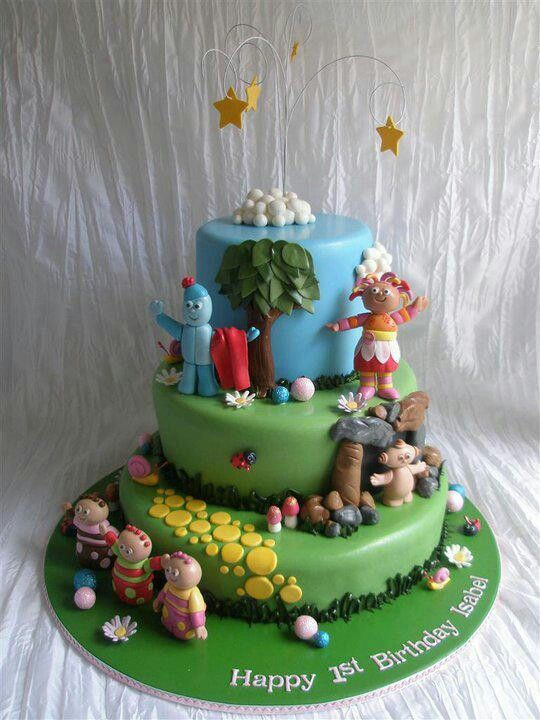 In The Night Garden Cake Iggle Piggle 1st Birthday Cake Elina's