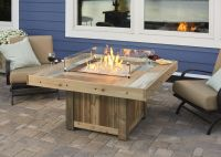 Vintage Fire Pit Table from Wissota Outdoor Living ...