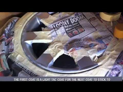 How To Refurbish And Paint Alloy Wheels At Home With Spray Cans Bmw 44s