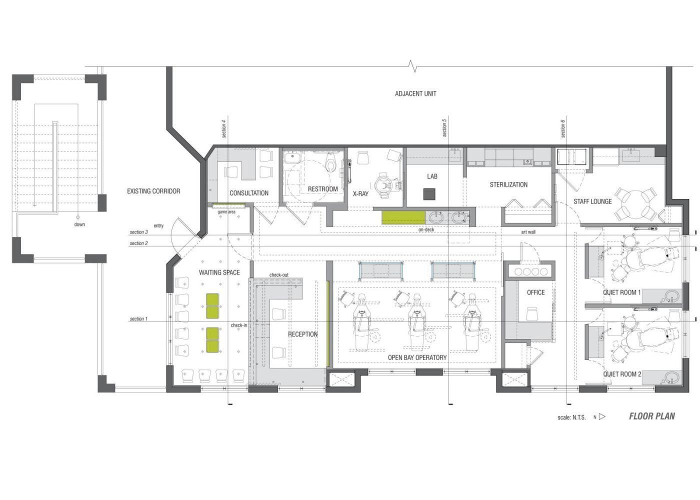 Gro Children Dental Office Floor Plan