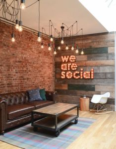 social media agency   innovative office design the changing connectivity has also before and after refined bohemian flatiron abode rh pinterest