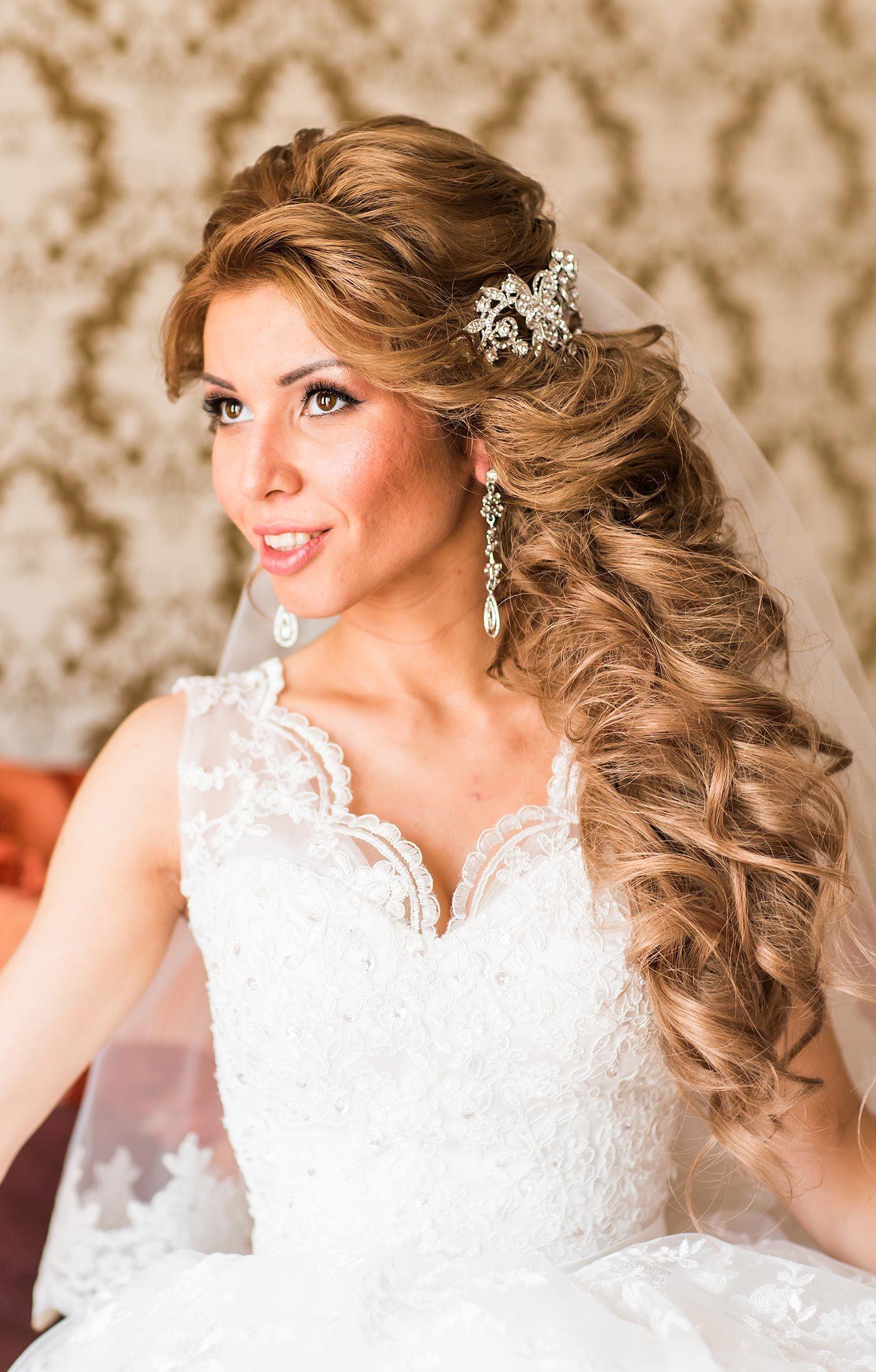 Brautfrisuren Halboffen Seitlich Fabelhafte Hochzeitsbrautfrisuren