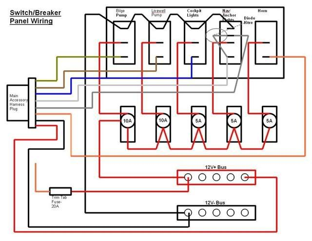 Switch Breaker Panel Wiring Diagram Electrical & Electronics