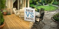 A deck or patio can really extend your homes living space ...