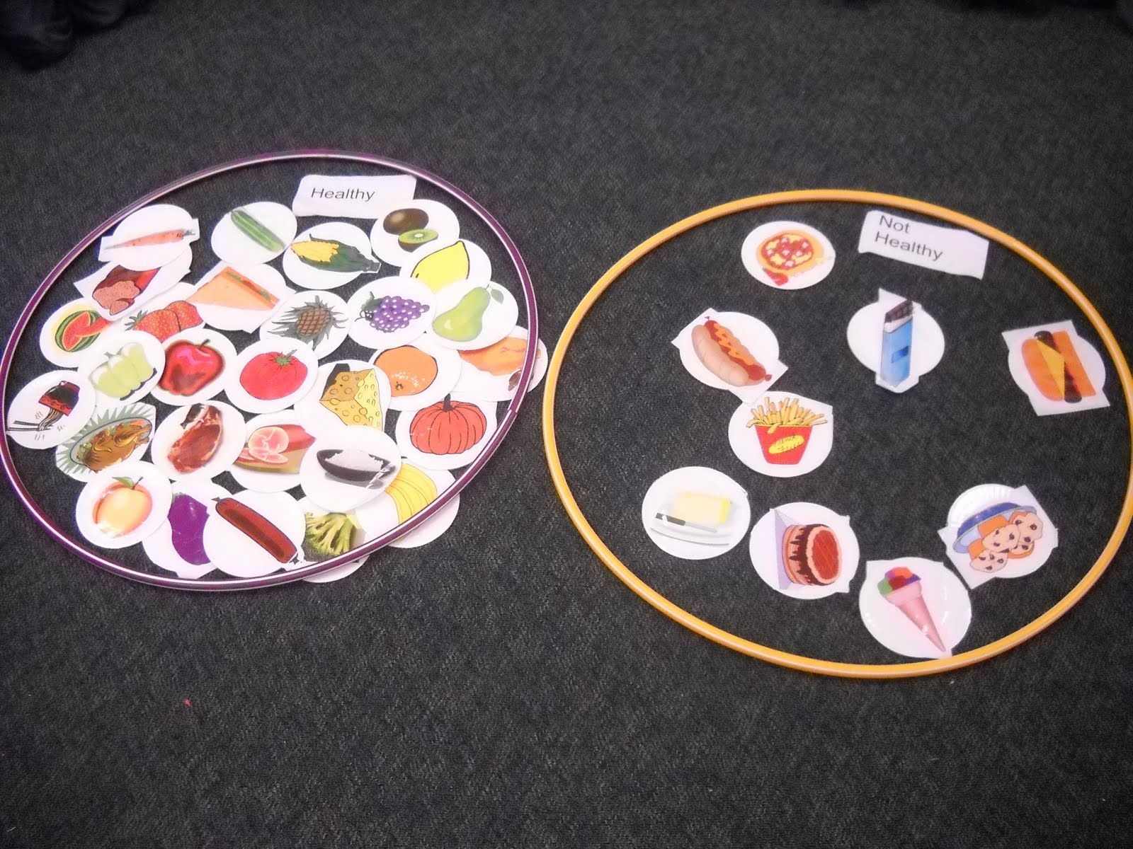 Fun Activity For Learning About Healthy Foods Gregory The