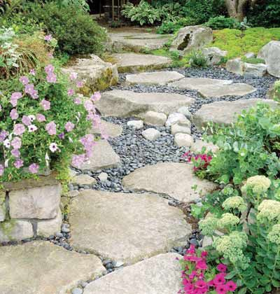 Dry Creek Bed Fairy Gardens Pinterest Gardens Flats And