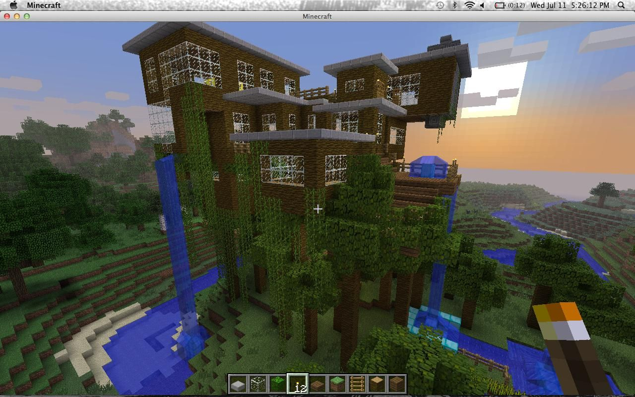 Minecraft Treehouse Google Search Minecraft Pinterest