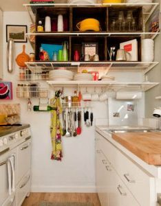 organized and efficient small real kitchens wows good for  apartment also kitchen designs tiny life rh pinterest