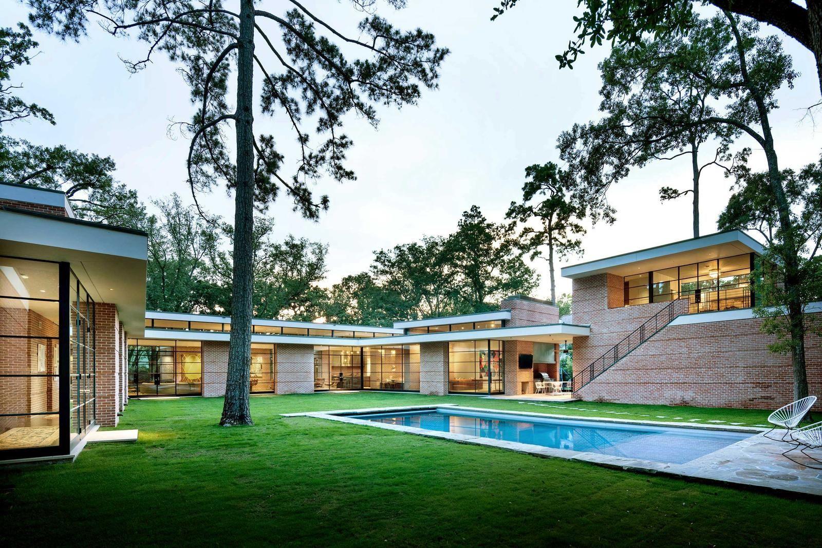 Best Kitchen Gallery: Mid Century Modern Architecture Houston Tx Oak Lane Pinterest of Mid Century Modern Homes Houston  on rachelxblog.com