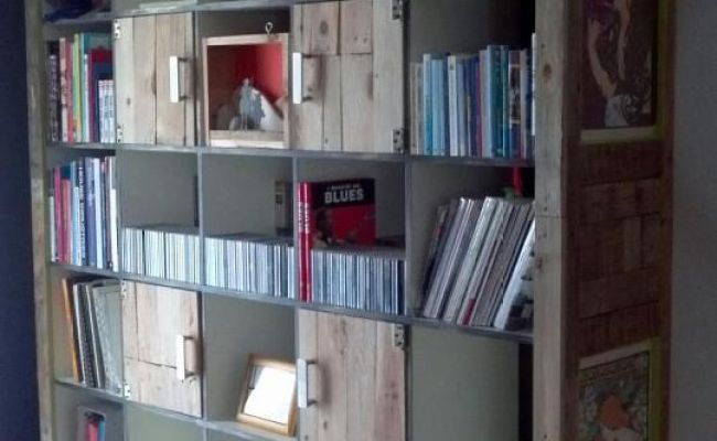 Ikea Hackers Expedit Cabinet With Upcycled Pallets
