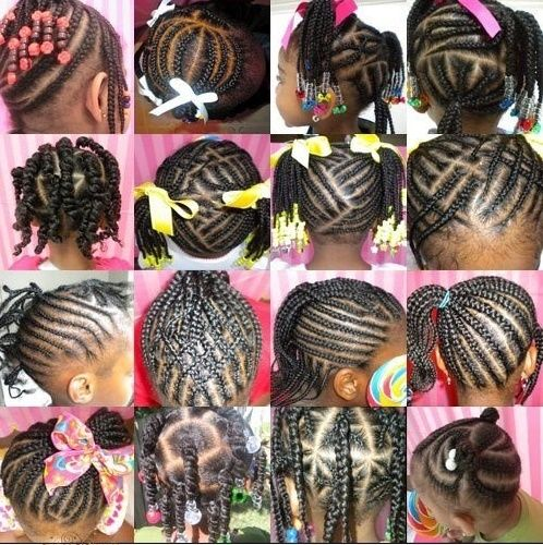20 Cutest African American Little Black Girl Hairstyles 2015