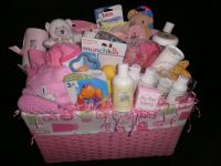Homemade Baby Shower Gift Baskets Ideas