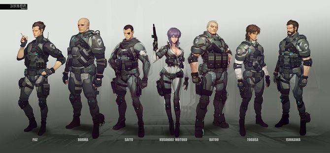 攻殻機動隊에 대한 이미지 검색결과