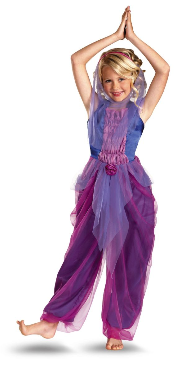 Garden Purple Genie Girl Costume Costumes