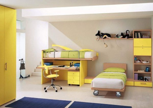 Enjoy your time while decorating little kid room with  yellow themed design bedroom ideas and designs also rh pinterest