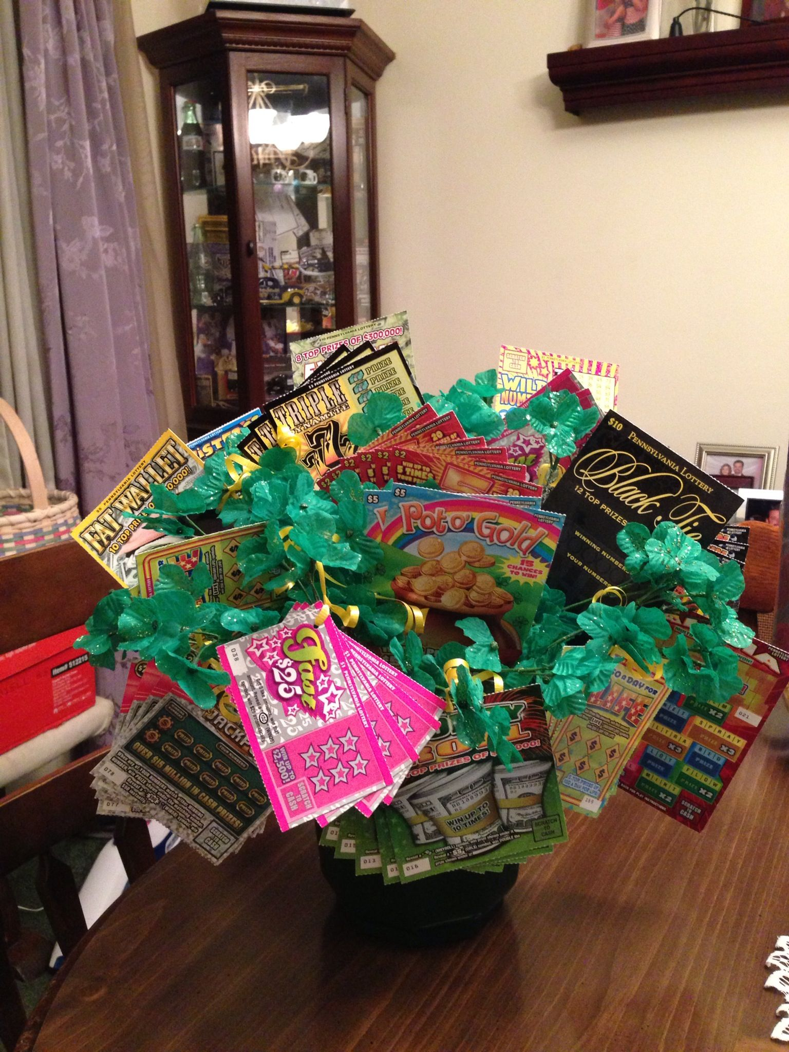 Lottery Ticket Pictures Idea Baskets