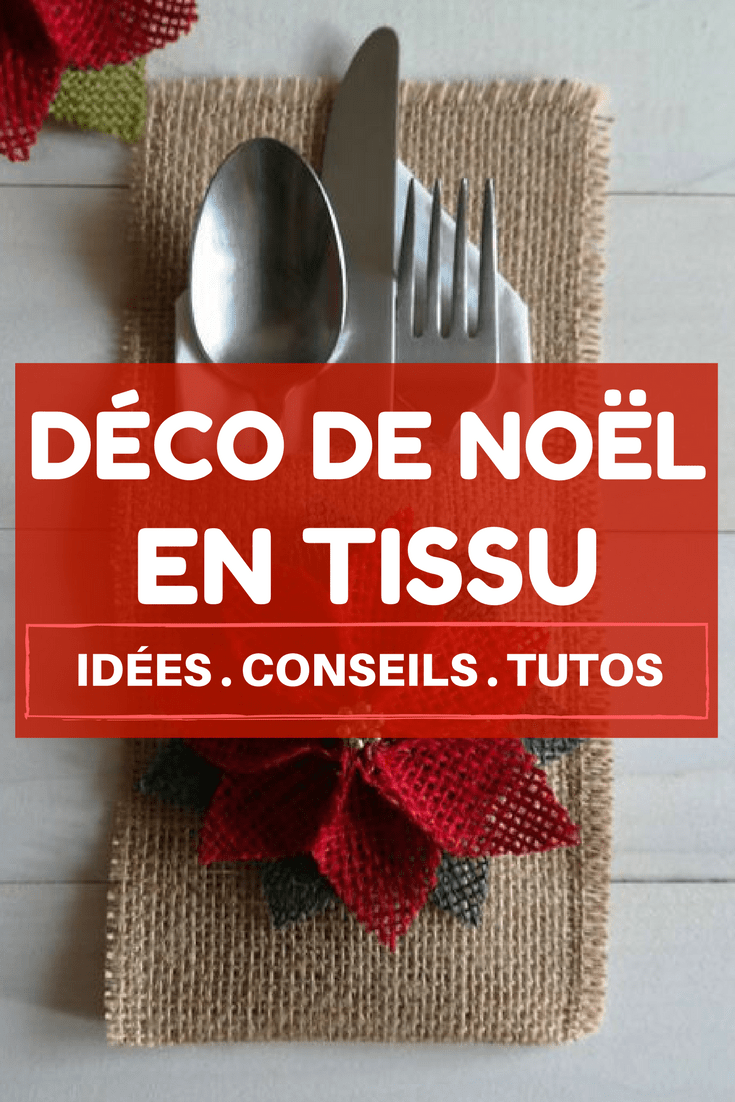 Dcoration De Noel Fabriquer En Tissu Perfect Id Es