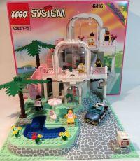 Lego 6416 City Town Paradisa POOLSIDE PARADISE w/Box ...