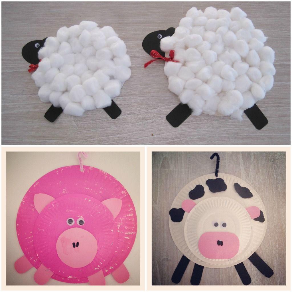 Preschool Farm Animal Art